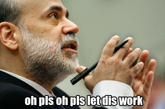 Bernanke-out-of-tricks