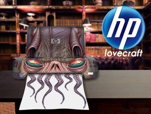 HP_Lovecraft_printer