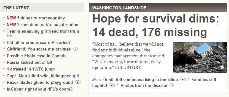 CNN headlines of doom 2014