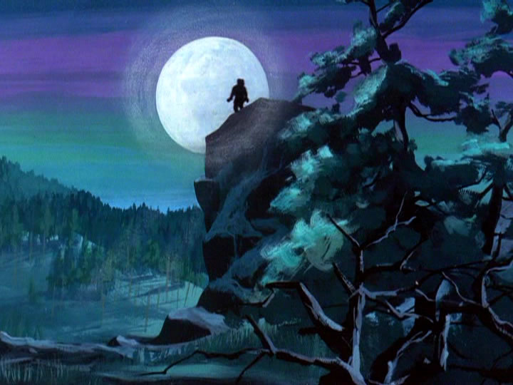 Scooby-doo background moon