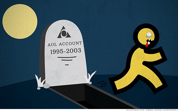 AOL zombie CNN 2014