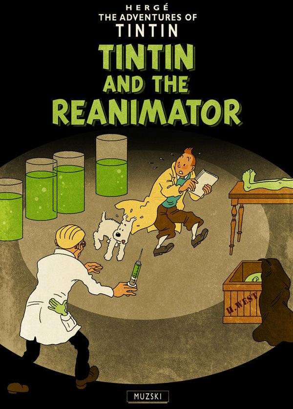 Tintin and the Reanimator
