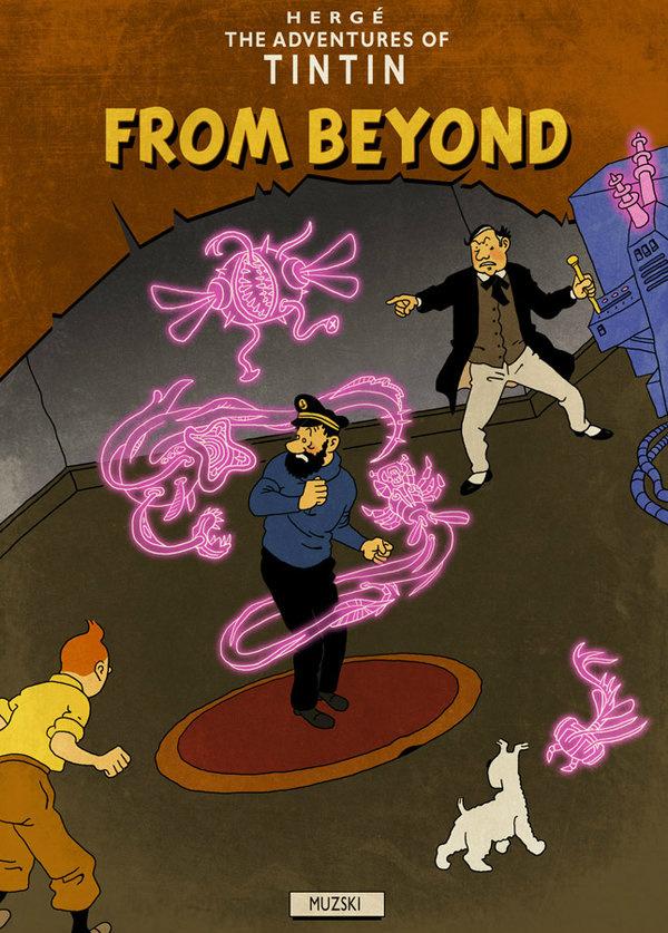 Tintin From Beyond