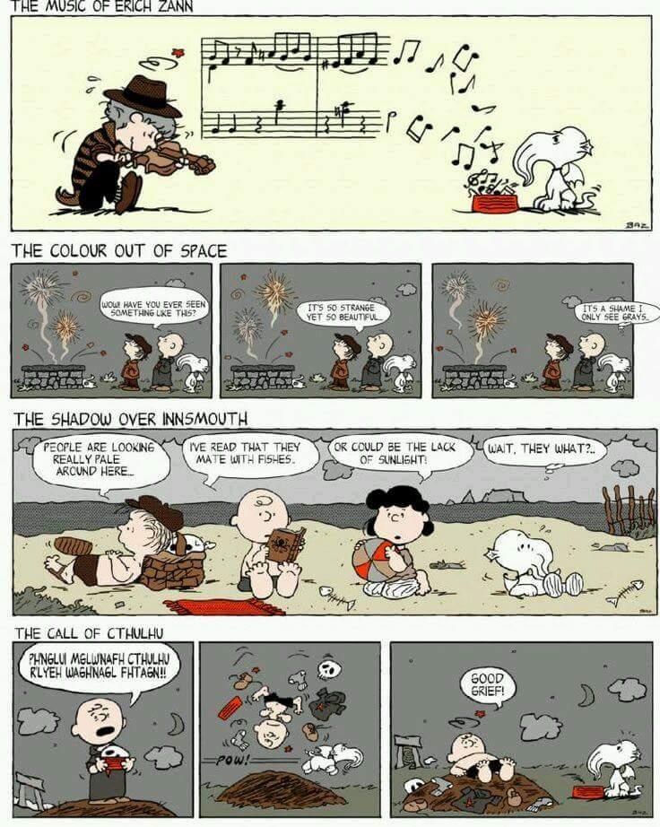 Charlie Brown Cthulhu