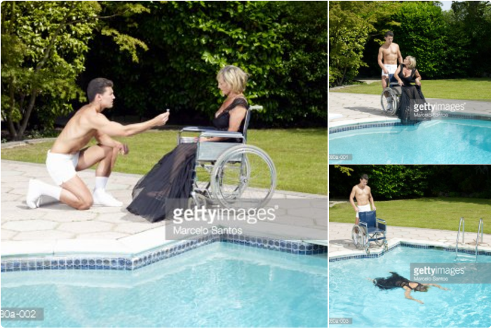 Stock photo murder