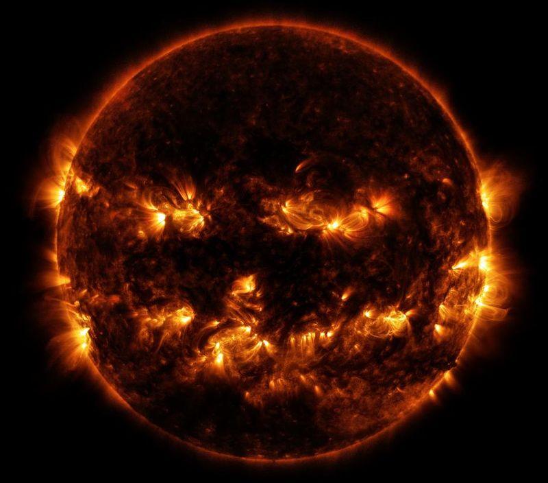 Sun pumpkin