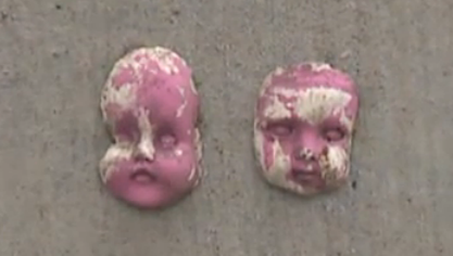 Baby faces worn down