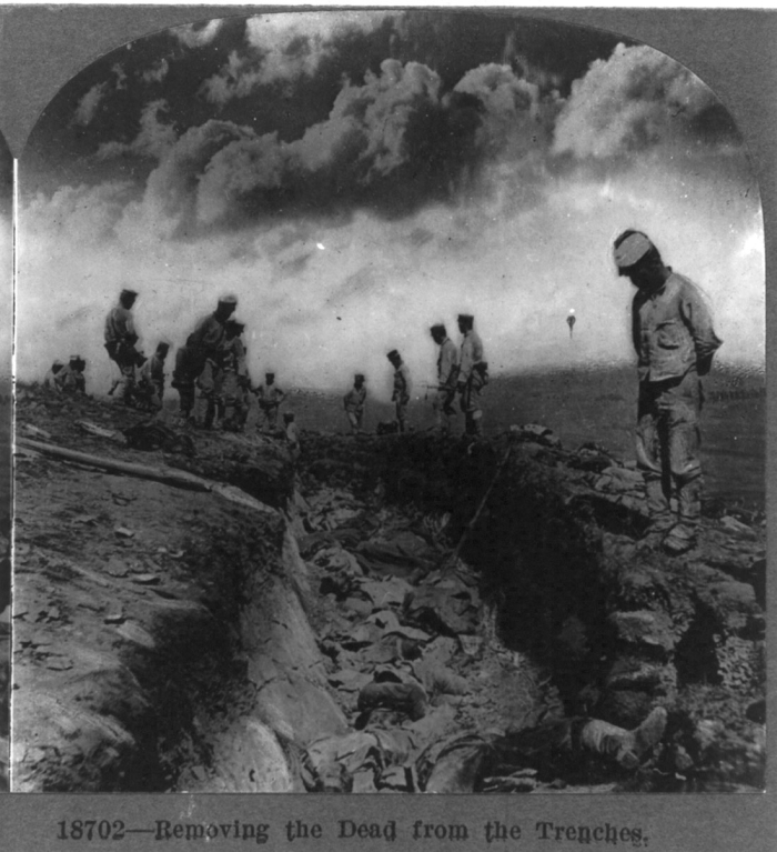 WWI_trench dead_Smithsonian