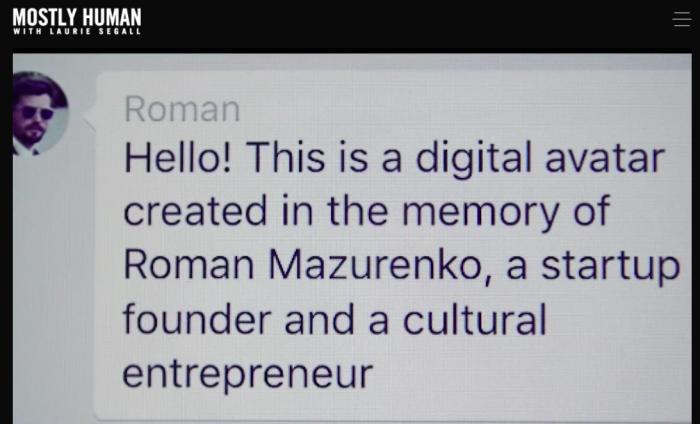 Roman after dead bot