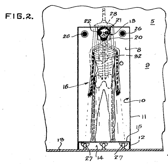 Skeleton interrogator patent