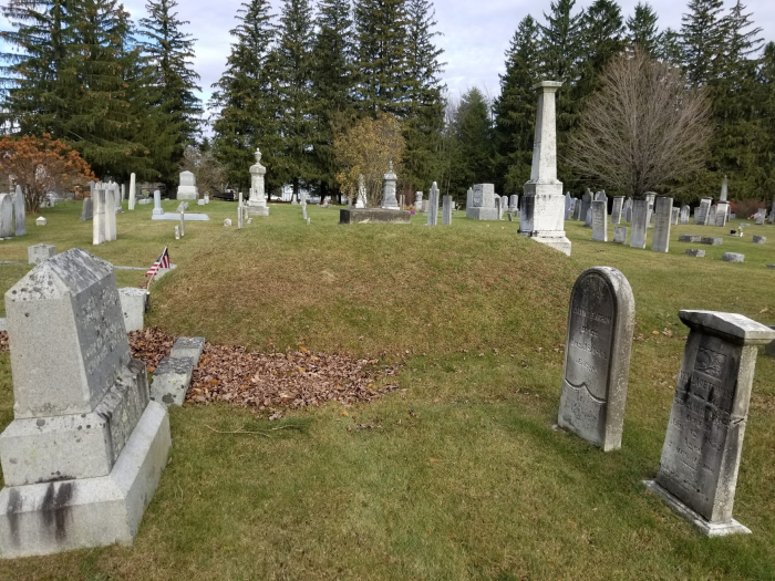 New Haven cemetery_burial mound
