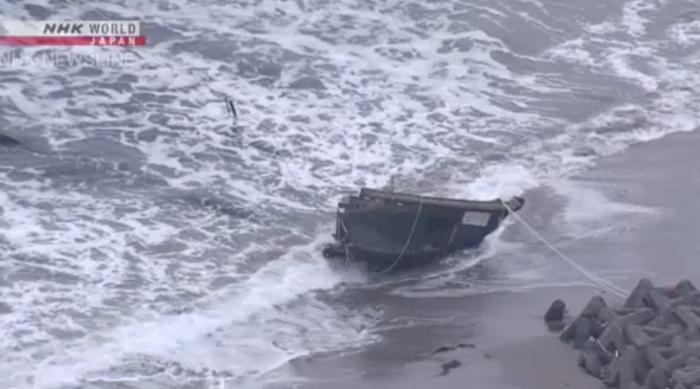 North Koreak death ship