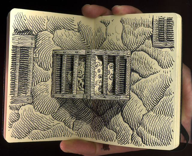 Woodring_cage